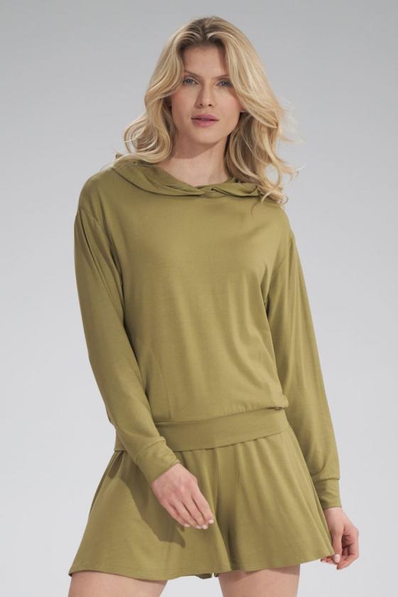 Rausva klasikinė marškinių stiliaus suknelė_59441