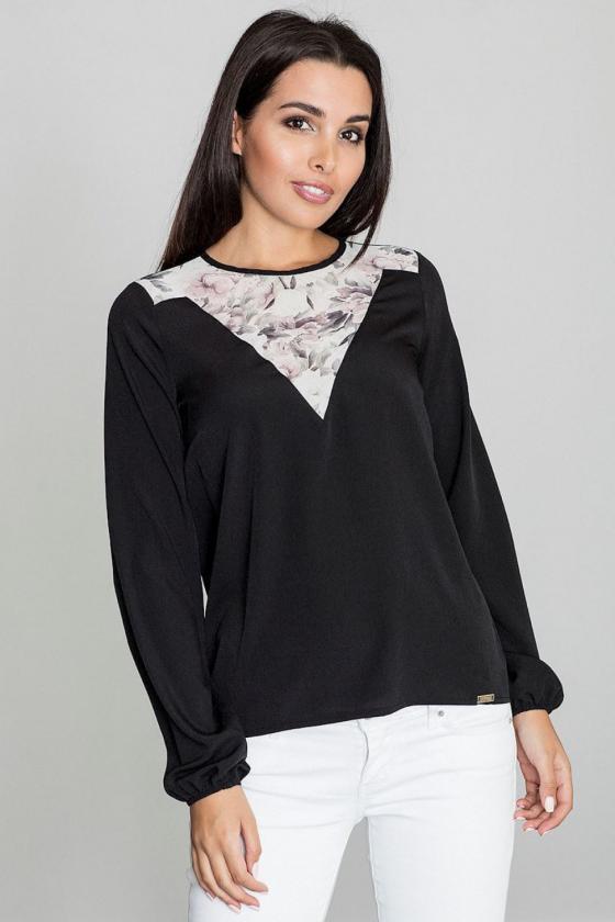 Raudona klasikinė midi suknelė_59458