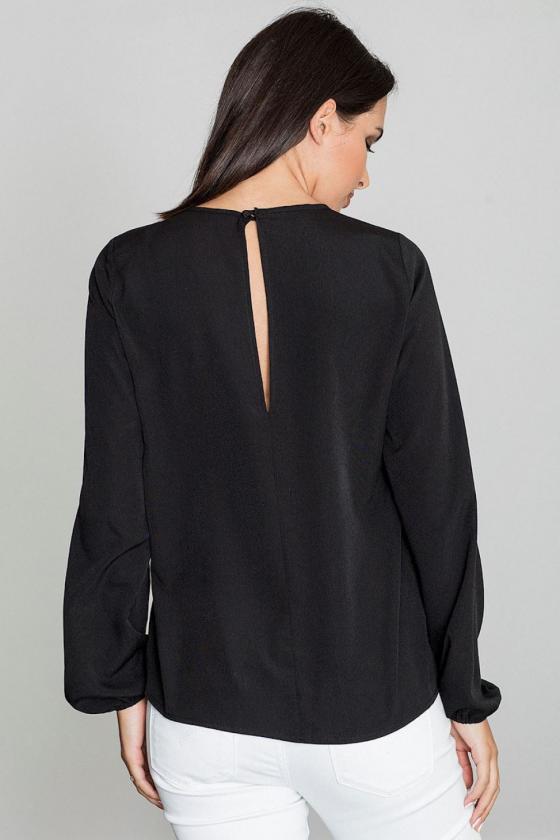 Raudona klasikinė midi suknelė