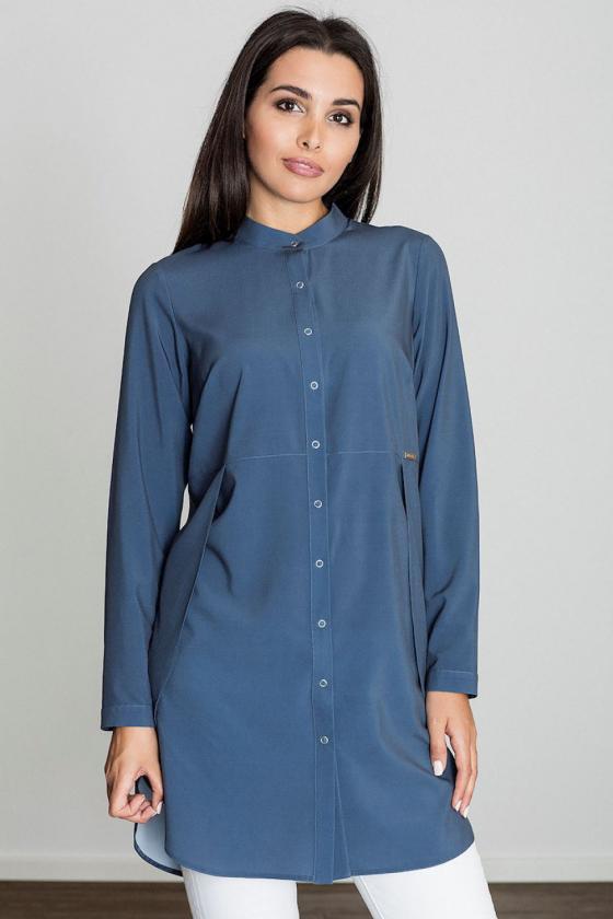 Raudona klasikinė midi suknelė_59460