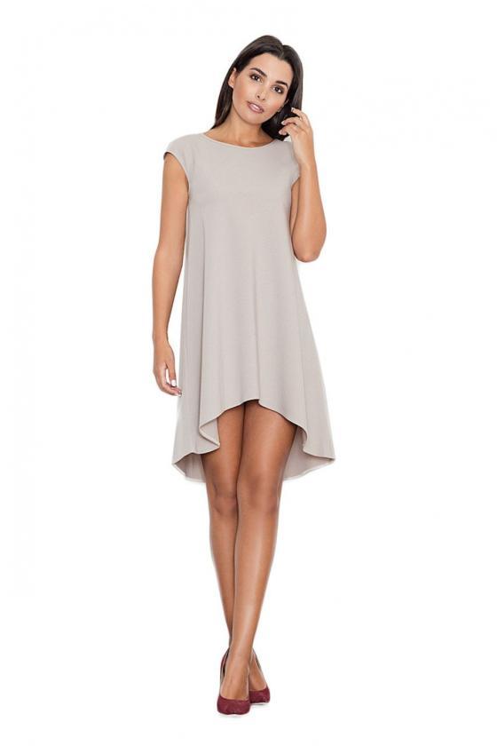 Žalia klasikinė midi suknelė_59464