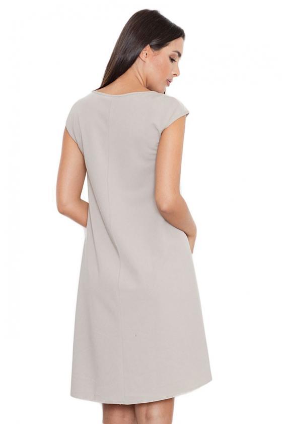 Žalia klasikinė midi suknelė_59466