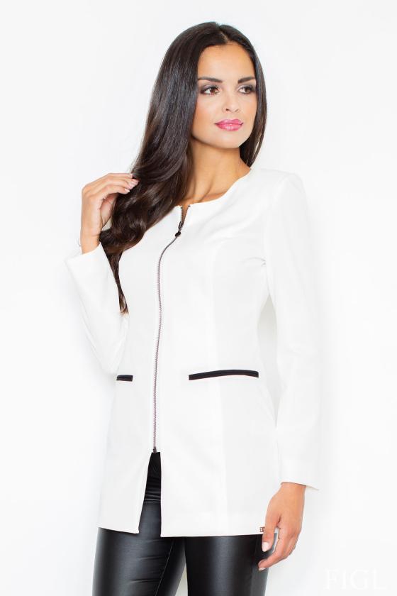 Raudona trapecijos formos suknelė su šifono rankovėmis_59478