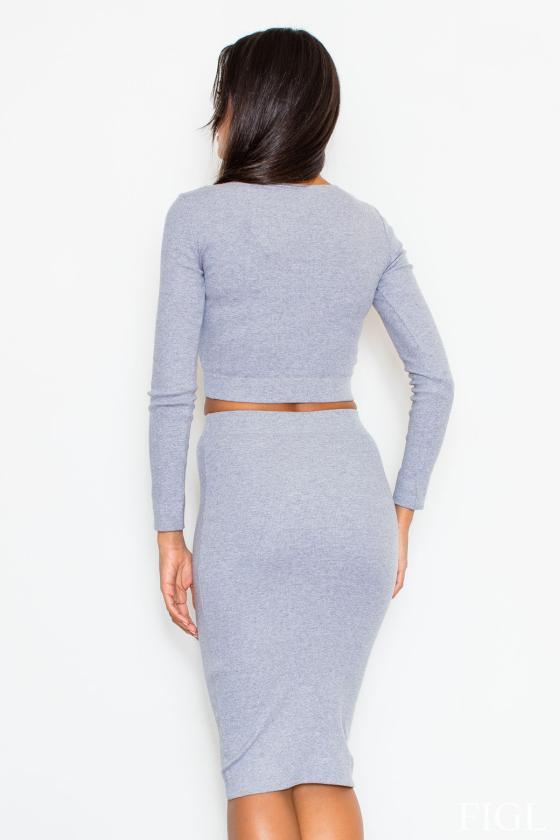 Švarko tipo bordinė suknelė_59489