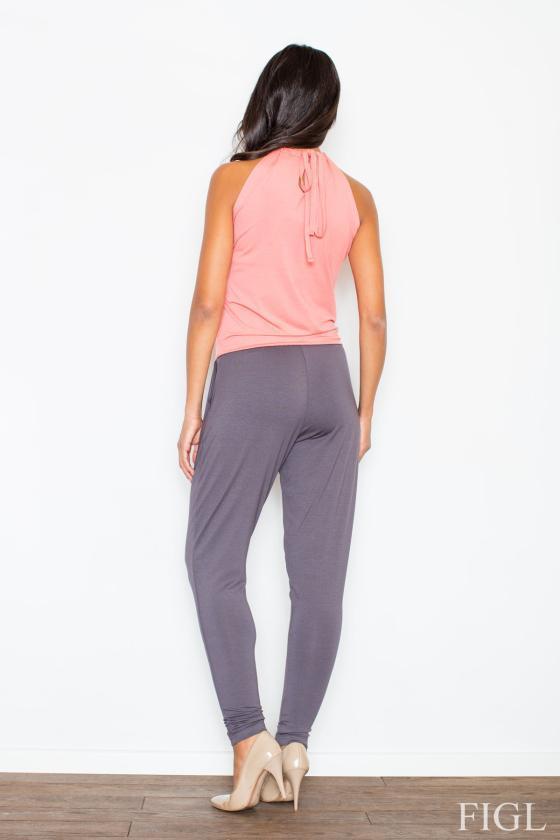 Švarko tipo bordinė suknelė_59491
