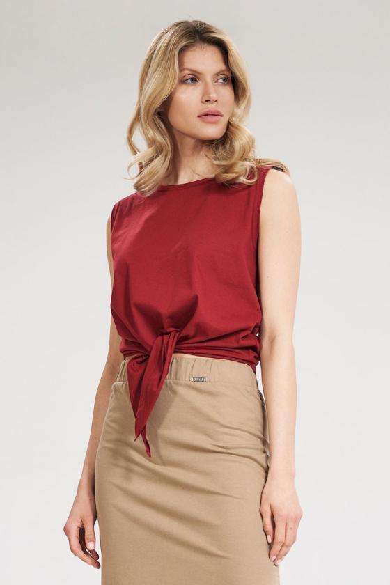 Pailgintas rožinis megztinis su šifonu