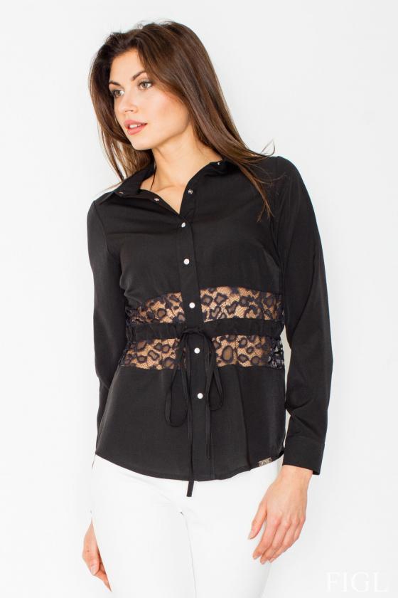Rausvos spalvos suknelė dekoruota raukiniais_59531