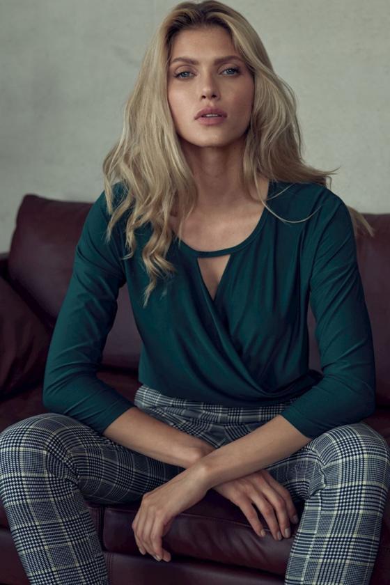 Boho stiliaus ilga rausva suknelė_59539