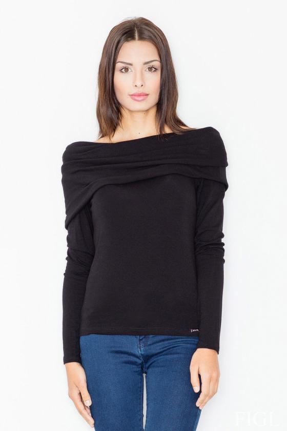 Rausvos spalvos voko stiliaus suknelė su dirželiu_59551