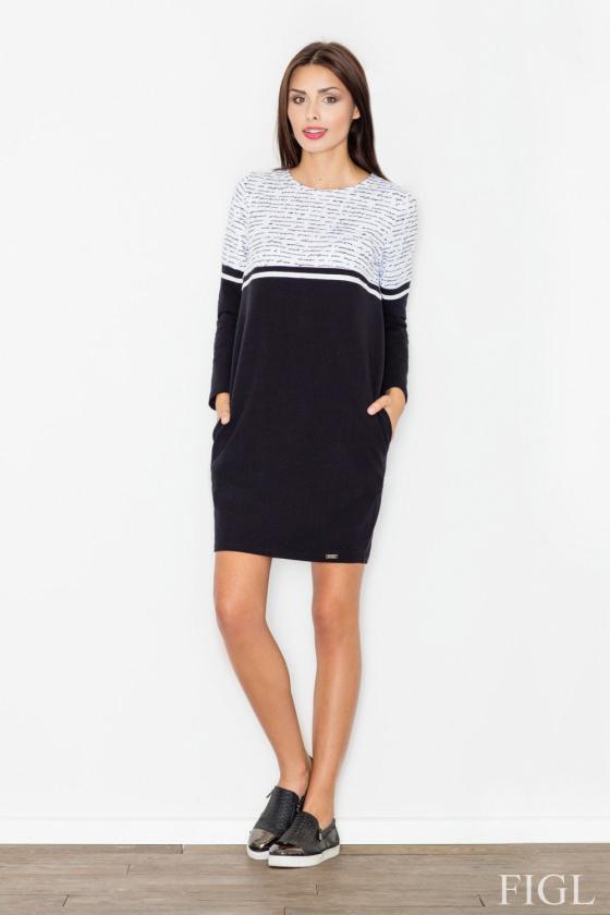 Rausvos spalvos suknelė be rankovių_59586