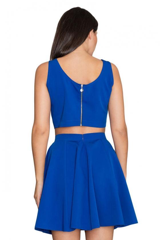 Ilga minimalistinė proginė bordinė suknelė_59814