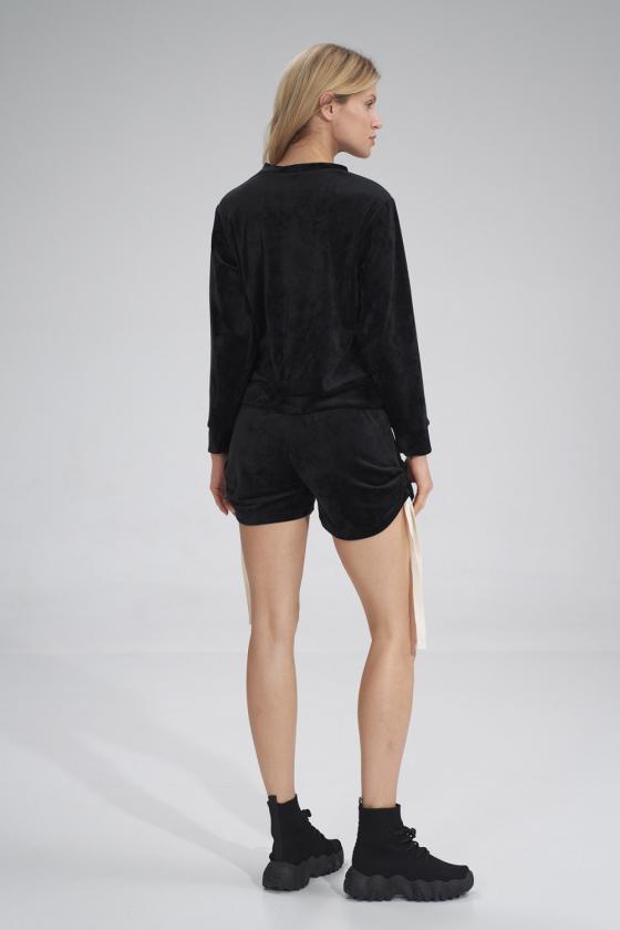 Stilinga žalia suknelė plasdančiomis rankovėmis_59895