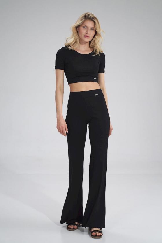 Stilinga bordinė suknelė plasdančiomis rankovėmis_59905