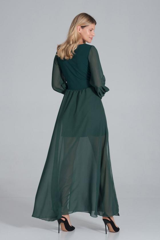 """Mėlynos spalvos marškinių tipo suknelė """" Brukė""""_59914"""
