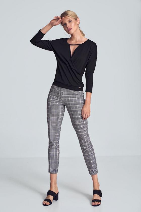 """Mėlynos spalvos marškinių tipo suknelė """" Brukė""""_59916"""