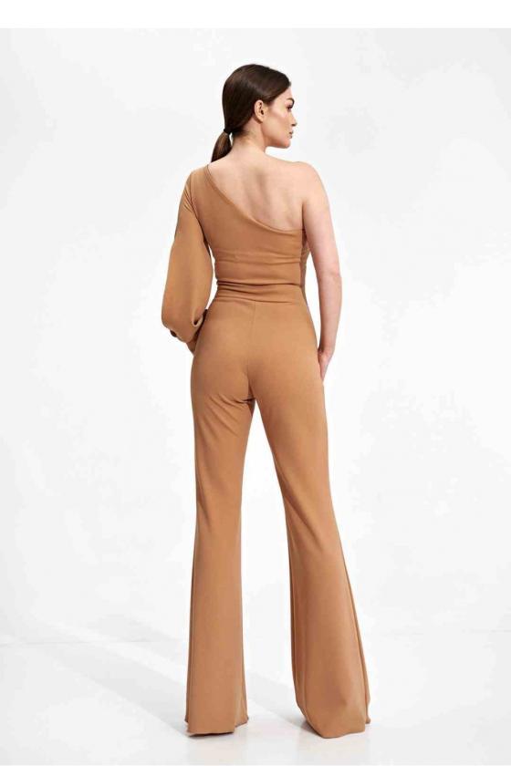 Raudona laisvalaikio  suknelė su kapišonu_60097