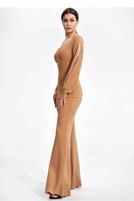 Raudona laisvalaikio  suknelė su kapišonu_60098