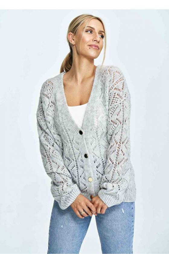 Mėlyna laisvalaikio  suknelė su kapišonu_60110