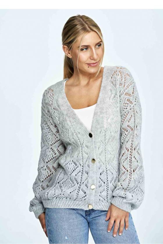 Mėlyna laisvalaikio  suknelė su kapišonu_60111