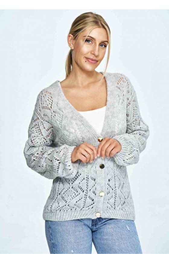 Mėlyna laisvalaikio  suknelė su kapišonu