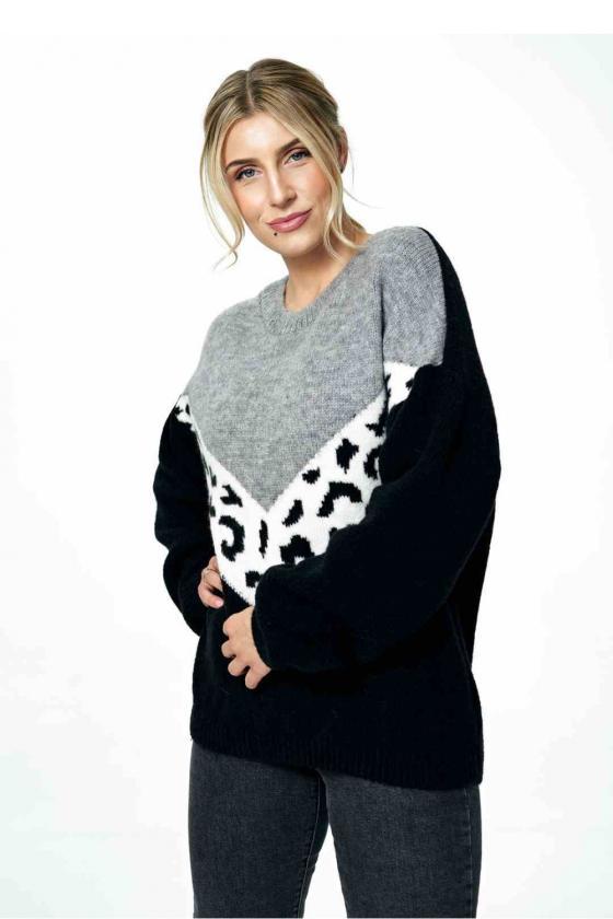 Balta laisvalaikio  suknelė su kapišonu_60118
