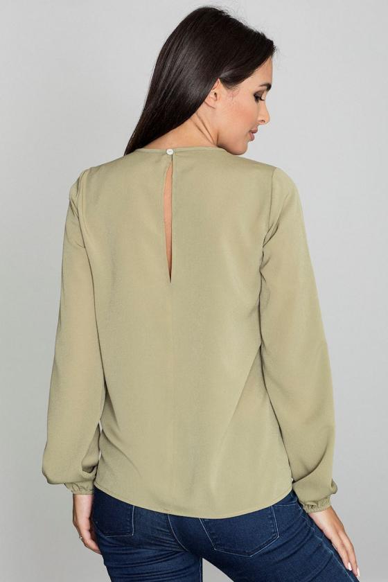 Romantiška aviečių spalvos suknelė atvirais pečiais_60225