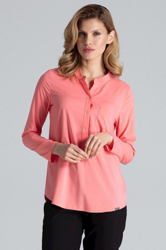 Romantiška raudonos spalvos suknelė atvirais pečiais_60250