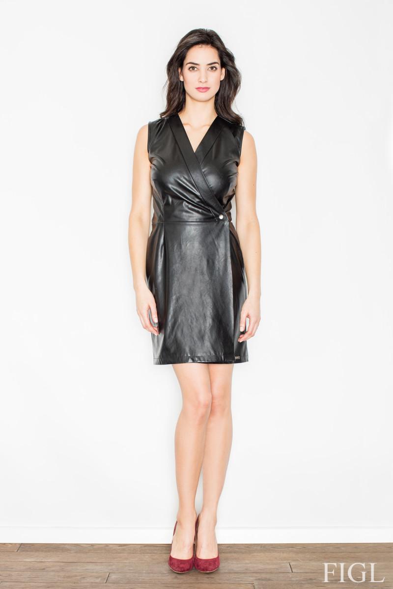 Juodos spalvos sijonas dekoruotas gėlėmis_60266