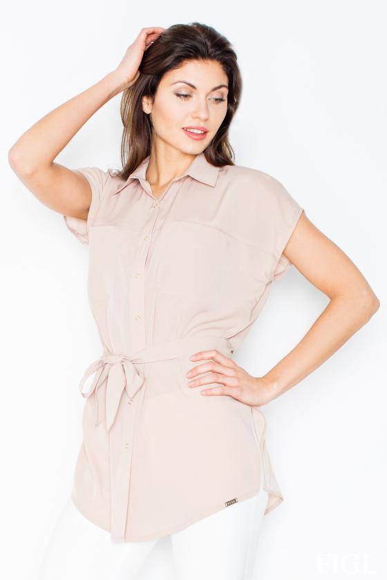 Rausvos spalvos sijonas dekoruotas gėlėmis_60272