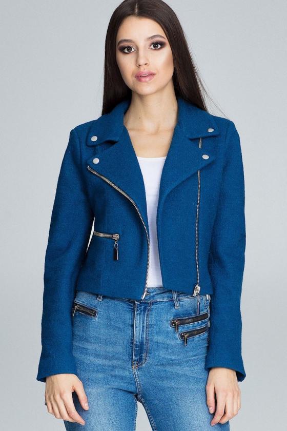 Rausvos spalvos sijonas dekoruotas gėlėmis_60273