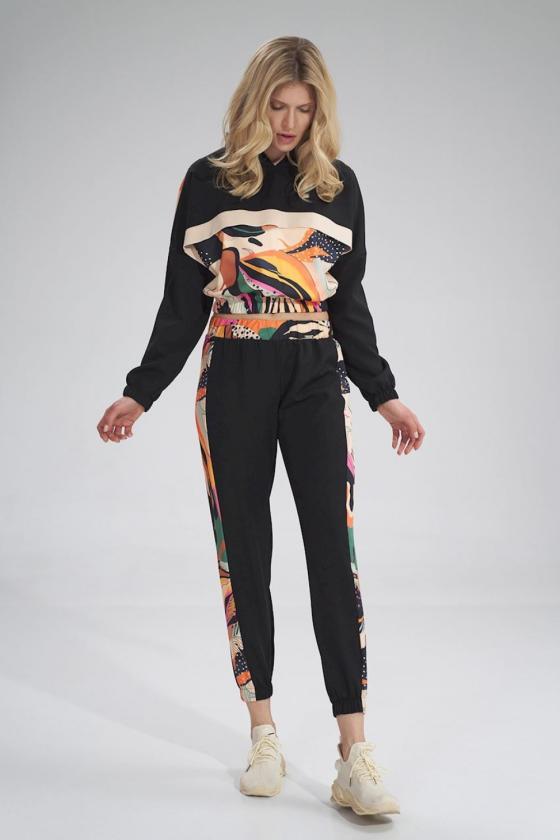 """Juoda šifoninė suknelė """"Valentina""""_60287"""