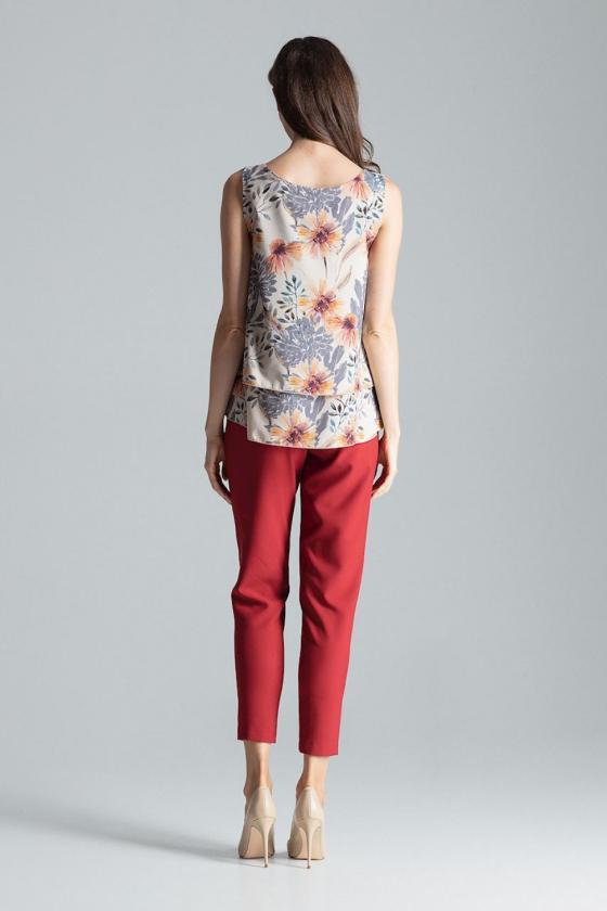 """Rausva šifoninė suknelė """"Valentina"""""""