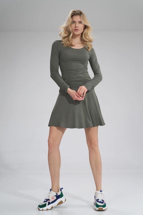 "Trumpa mėlyna suknelė ""Aria"""