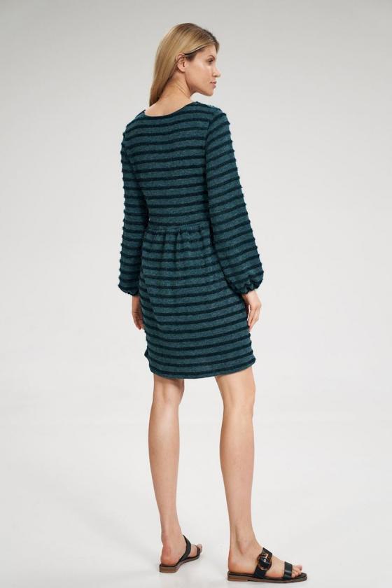 """Trumpa juoda suknelė """"Aria""""_60357"""