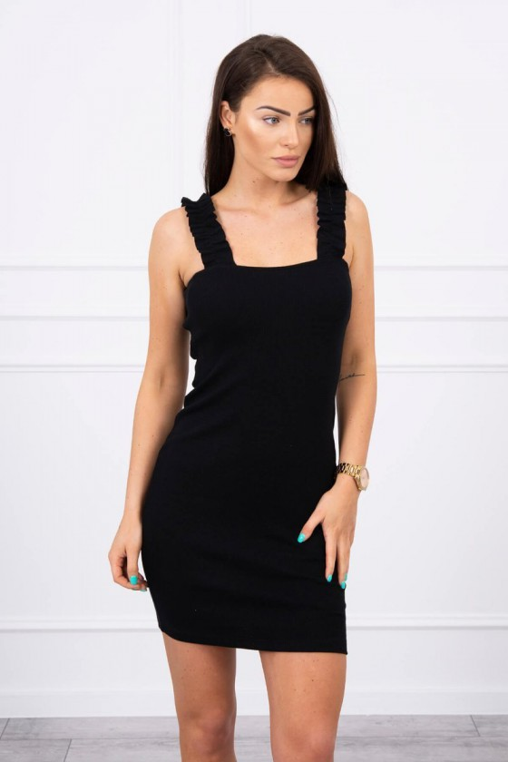 """Trumpa juoda suknelė """"Aria"""""""