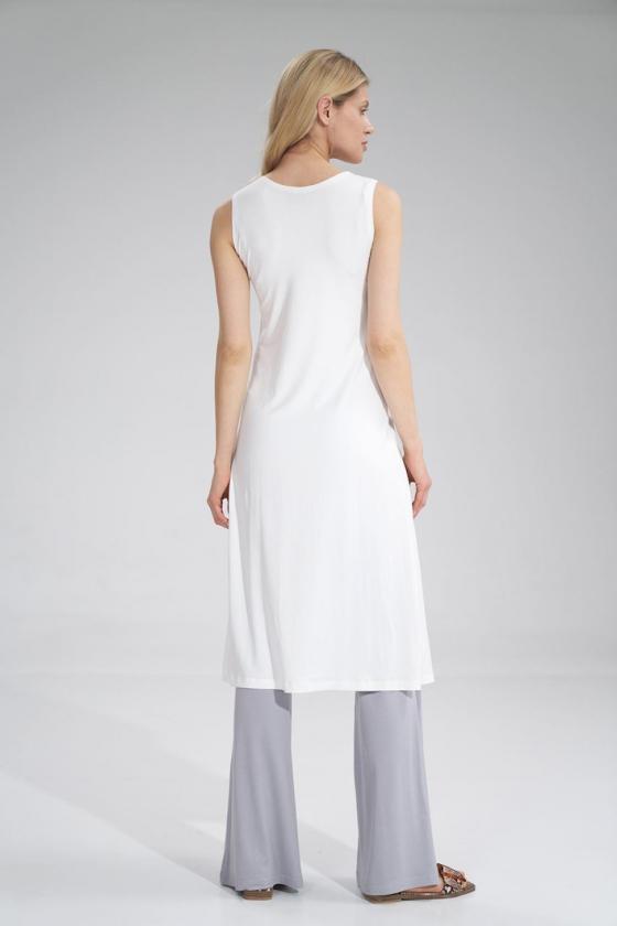 """Trumpa neoninė rožinė suknelė """"Aria""""_60365"""