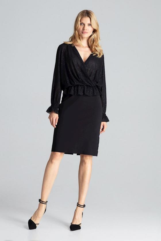 """Trumpa neoninė rožinė suknelė """"Aria""""_60367"""
