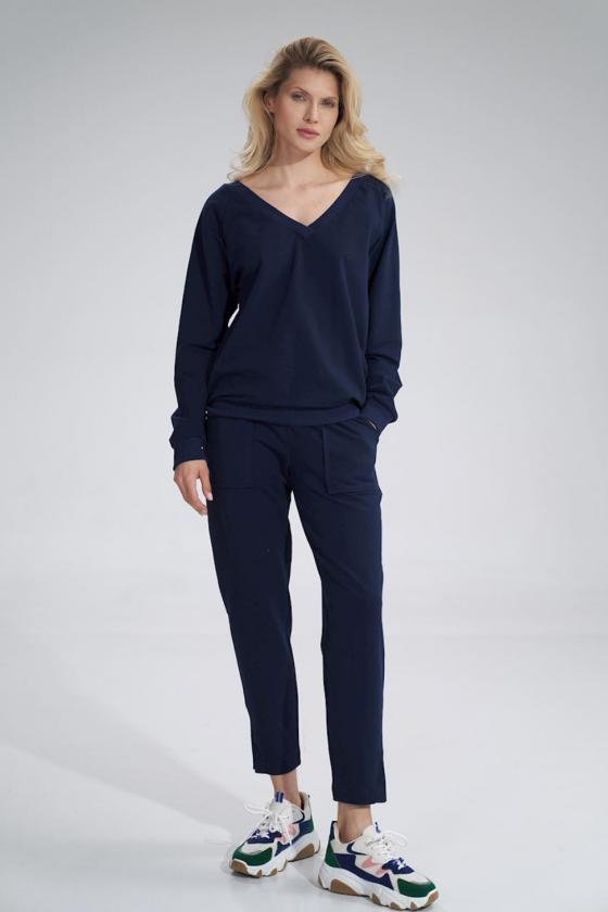 """Neoninė rožinė palaidinė su aplikacija """"Bow""""_60411"""