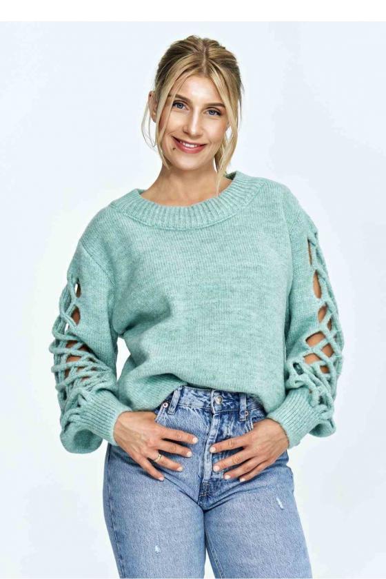 Elegantiškas raudonas kombinezonas su kišenėmis_60503