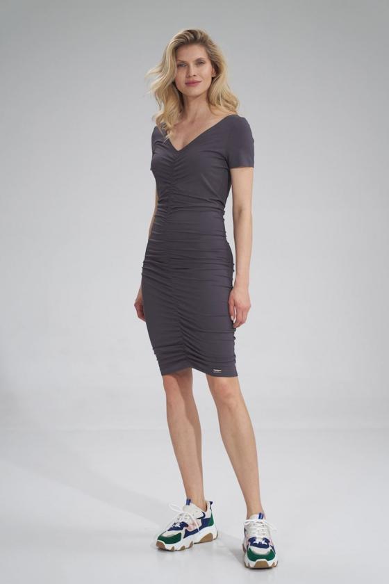 Stilingi mėlyni džinsiniai šortai_60659