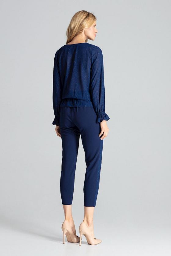 Raudona padidinto modelio suknelė su gobtuvu_61159