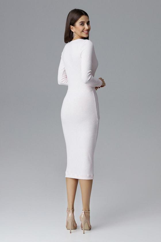 Ryški raudona tunika dekoruota kristalais