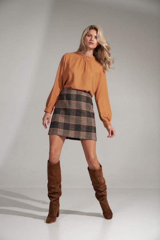 Ilga žydra vasarinė suknelė su dirželiu