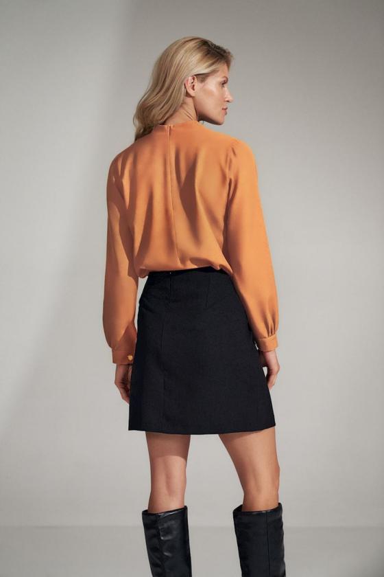 Ilga žydra vasarinė suknelė su dirželiu_61253