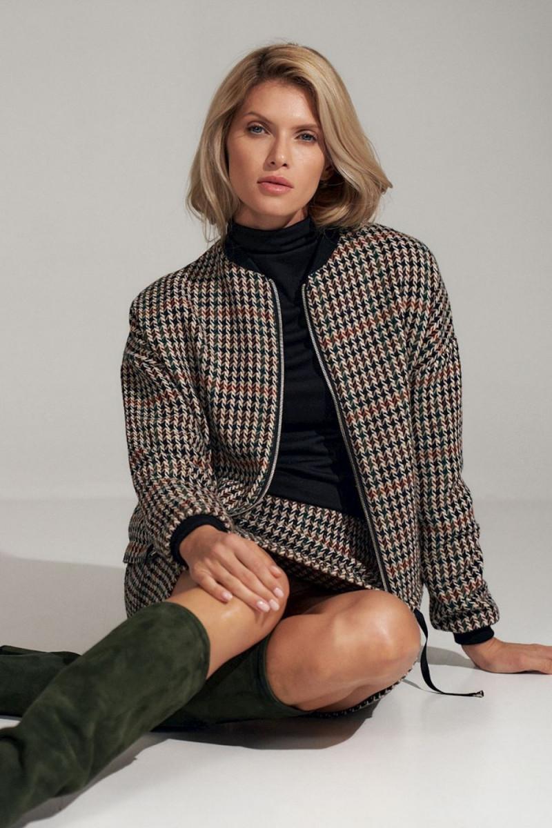 Elegantiška raudona suknelė su nėrinių intarpais_61278