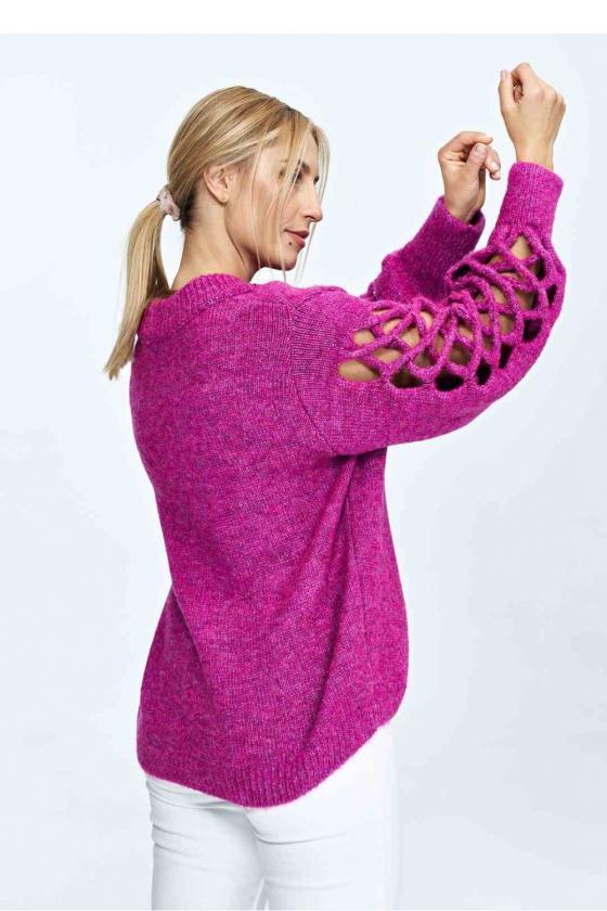 Madinga balta suknelė be rankovių
