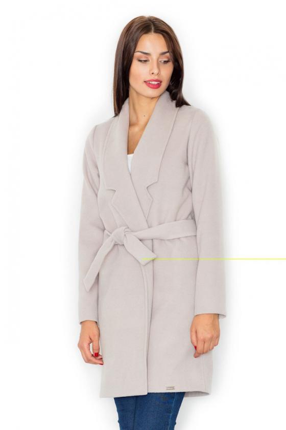Žydros spalvos klasikinė suknelė su kloste_61400