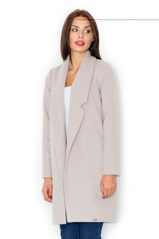 Žydros spalvos klasikinė suknelė su kloste_61402