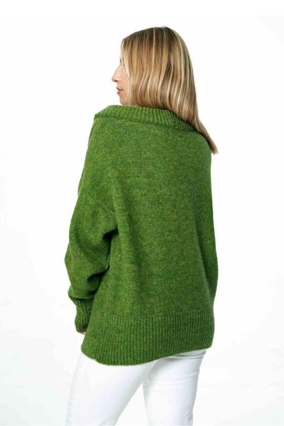 Ilga leopardo rašto suknelė atvirais pečiais_61703