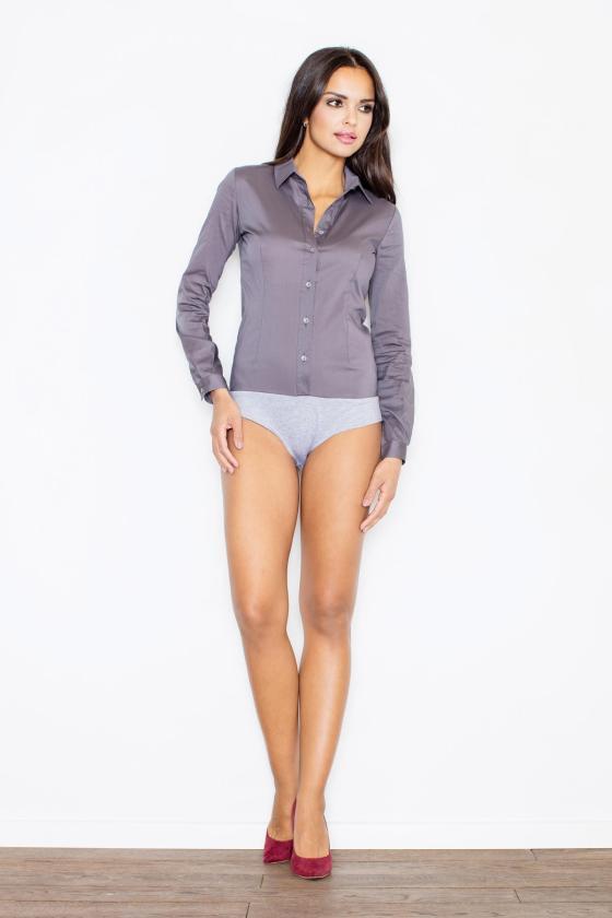 Ilga gyvatės rašto suknelė atvirais pečiais_61710